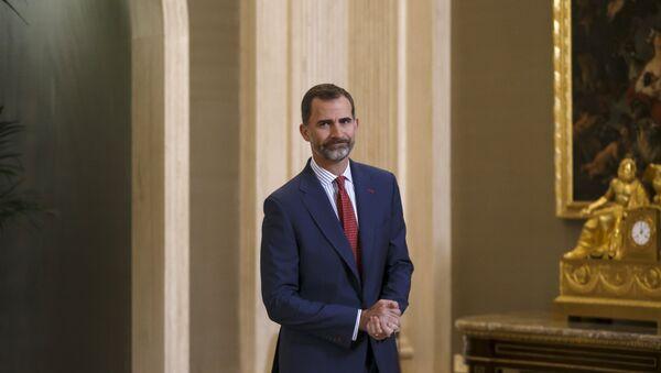 El rey de España Felipe VI - Sputnik Mundo