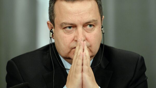 Ivica Dacic, primer ministro de Serbia - Sputnik Mundo