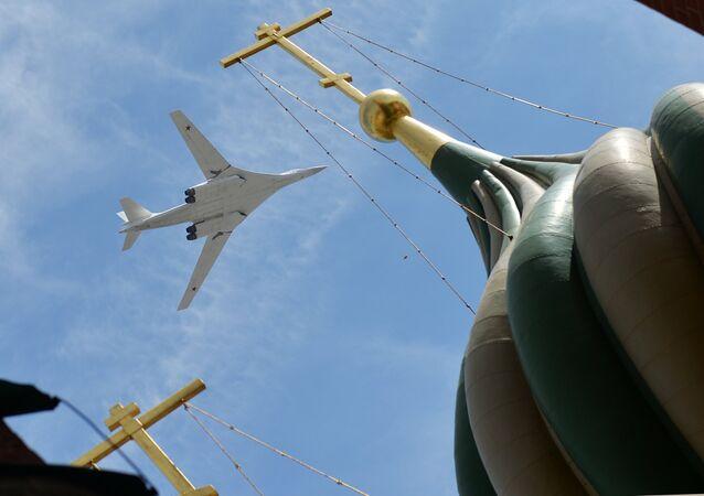 Bombardero estratégico Tupolev Tu-160