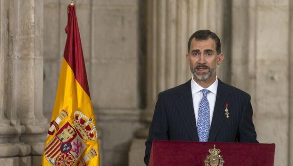 Felipe VI, rey de España (archivo) - Sputnik Mundo