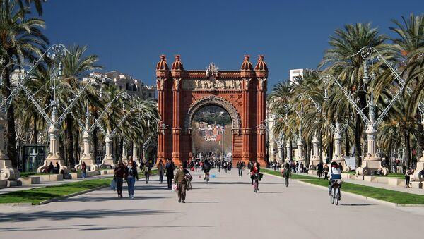 Arco de Triunfo de Barcelona - Sputnik Mundo