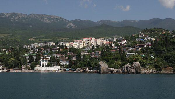 Ciudad de Gurzuf en Crimea - Sputnik Mundo