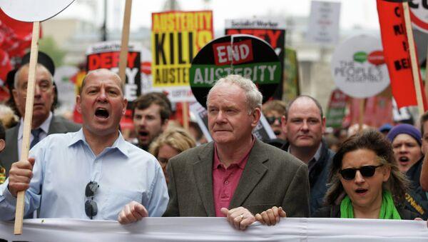 Martin McGuinness, dirigente de Sinn Fein y vice ministro principal de Irlanda del Norte - Sputnik Mundo