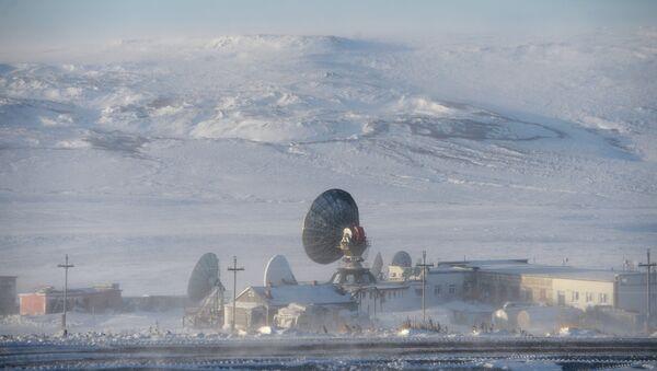 Radar en una ciudad rusa Anádyr - Sputnik Mundo