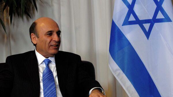 Shaul Mofaz, exjefe del Estado Mayor israelí y ministro de Defensa de Israel - Sputnik Mundo