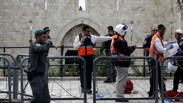 Policía israelí - Sputnik Mundo