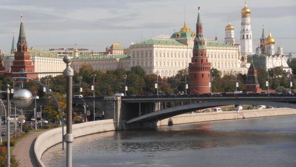 Kremlin and Movska River, Moscow, Russia  - Sputnik Mundo
