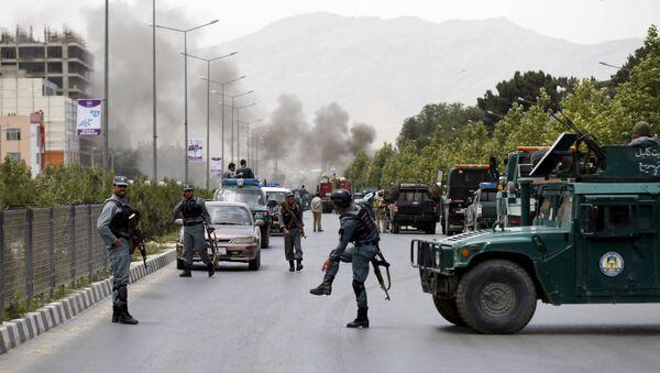Lugar del atentado contra el Parlamento de Afganistán. Kabul. 22 de junio de 2015 - Sputnik Mundo