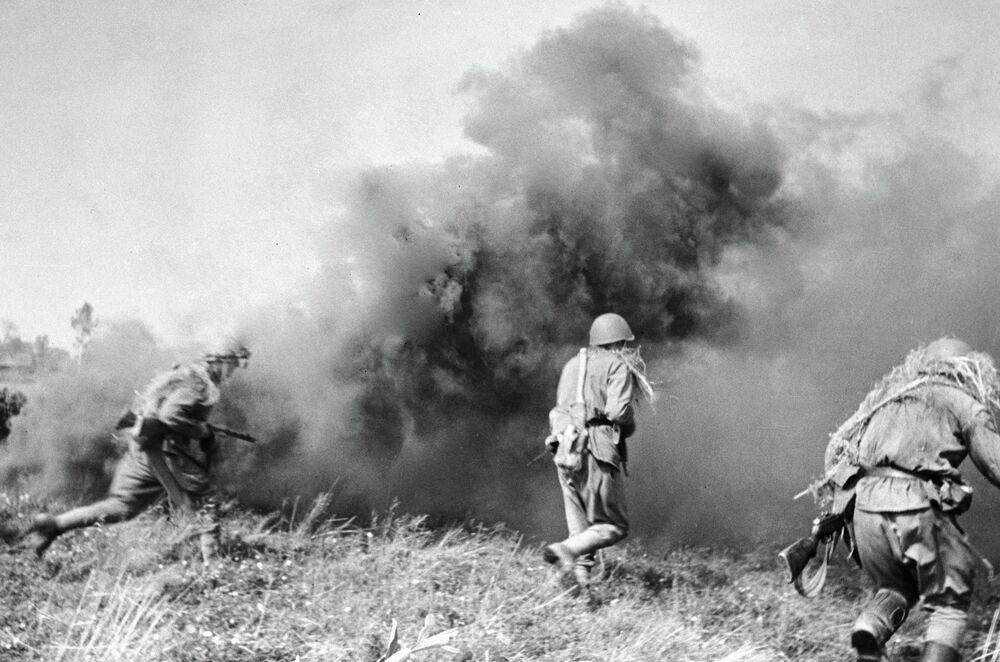 Combates en territorio de Bielorrusia. Año 1941