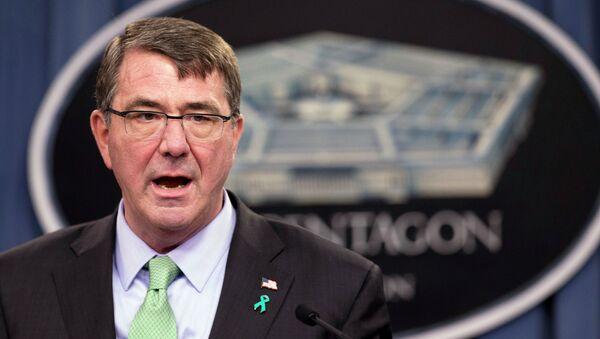 El exsecretario de Defensa estadounidense, Ashton Carter - Sputnik Mundo