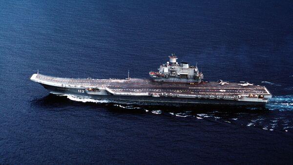 Portaaviones de la Armada de Rusia Almirante Kuznetsov - Sputnik Mundo