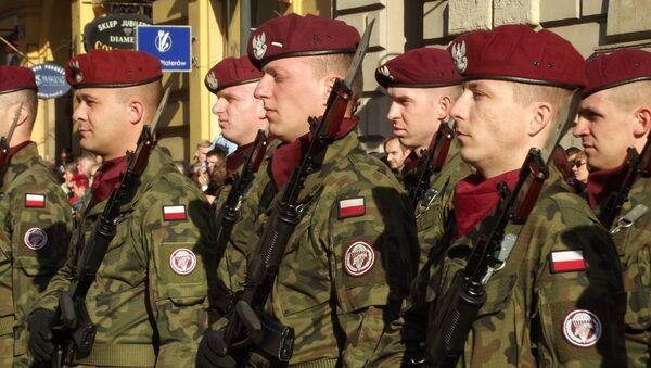 Fuerzas armadas de Polonia - Sputnik Mundo