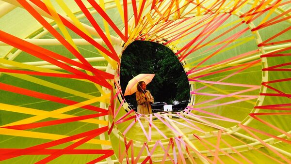 Galería Serpentine en los jardines Kensington de Londres - Sputnik Mundo