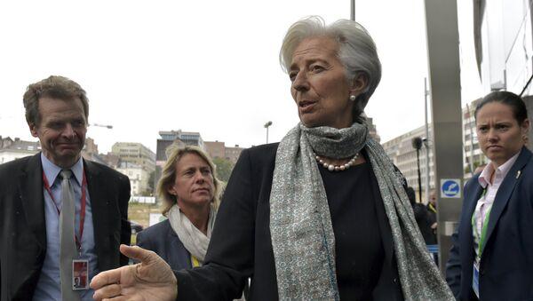 Christine Lagarde, jefa del Fondo Monetario Internacional (FMI) - Sputnik Mundo