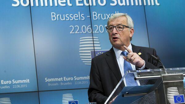 Jean-Claude Juncker, presidente de la Comisión Europea - Sputnik Mundo
