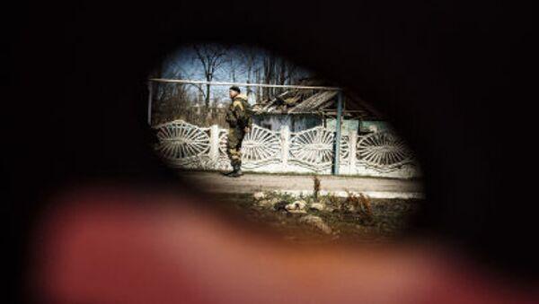 Miliciano en Donbás - Sputnik Mundo