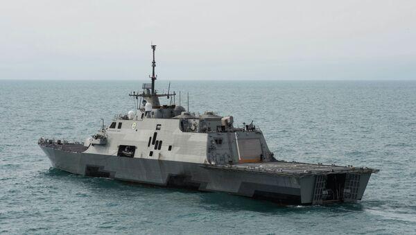 El Littoral Combat Ship USS Fort Worth (LCS 3) - Sputnik Mundo