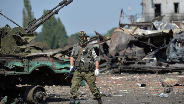 Milicianos de la RPL controlan parte de la frontera con Rusia - Sputnik Mundo