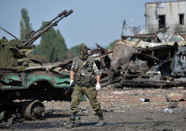 Milicianos de la RPL controlan parte de la frontera con Rusia