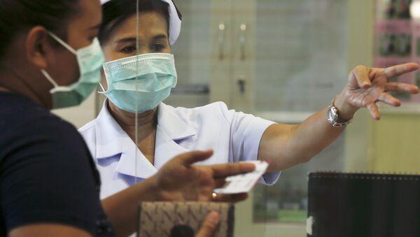 Instituto Bamrasnaradura de Enfermedades Infecciosas en Bangkok, Tailandia, el 19 de junio, 2015 - Sputnik Mundo