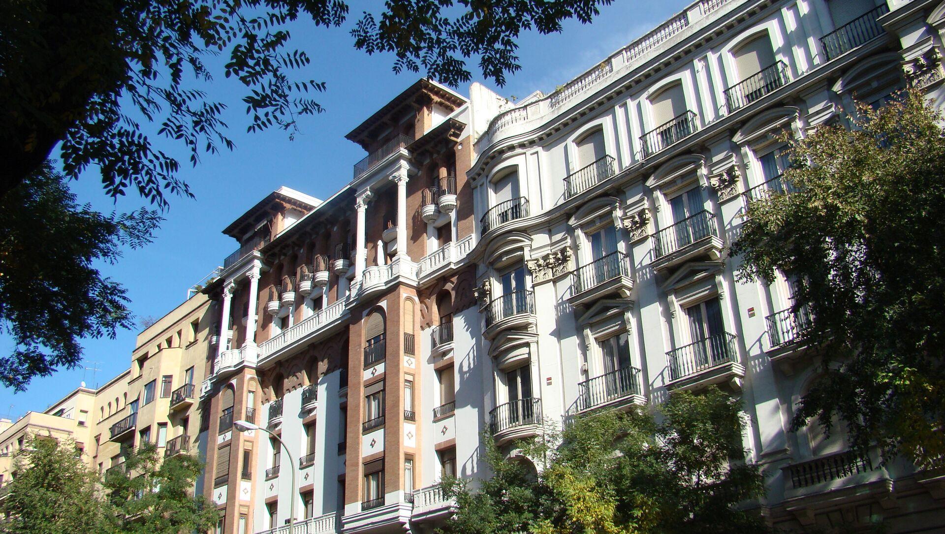 Edificio en Madrid - Sputnik Mundo, 1920, 10.12.2015