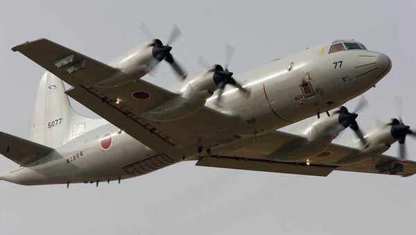 Avión patrulla P3C de la Fuerza Marítima de Autodefensa de Japón - Sputnik Mundo