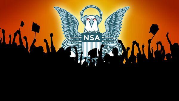 Cartel contra las escuchas de la NSA - Sputnik Mundo