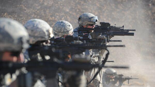 Soldados del Ejército de EEUU en Irak (archivo) - Sputnik Mundo