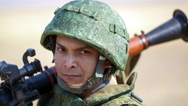 Efectivo del Ejército de Rusia - Sputnik Mundo