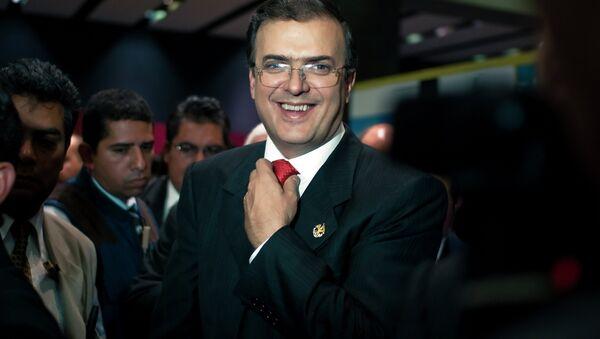 Marcelo Ebrard, exjefe de Gobierno de Ciudad de México - Sputnik Mundo
