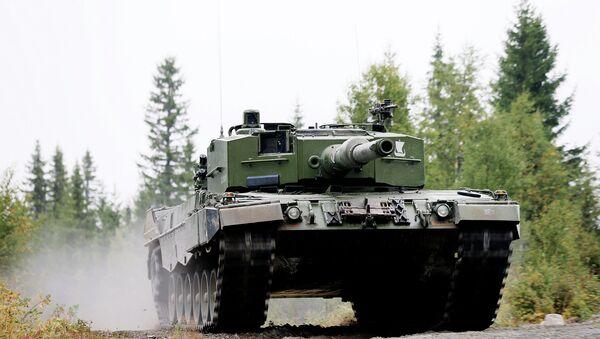 Tanque Leopard 2 A4 - Sputnik Mundo