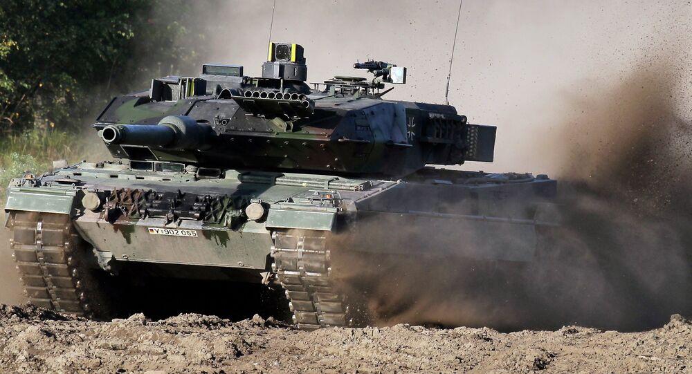 El tanque Leopard