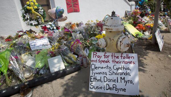 Nombres de las víctimas del tiroteo en Charleston - Sputnik Mundo