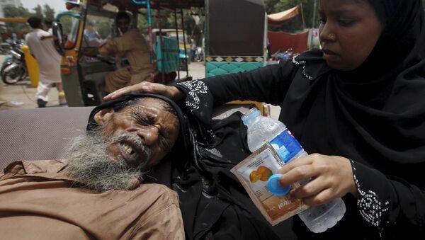 Ola de calor en Pakistán - Sputnik Mundo