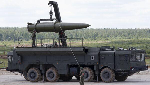 Sistema de misiles tácticos Iskander - Sputnik Mundo
