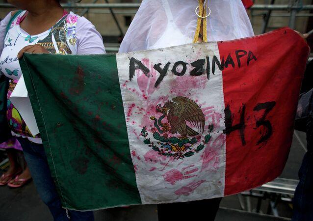 Desaparición de estudiantes en México