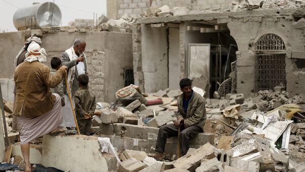 Situación en la capital de Yemen, Saná - Sputnik Mundo
