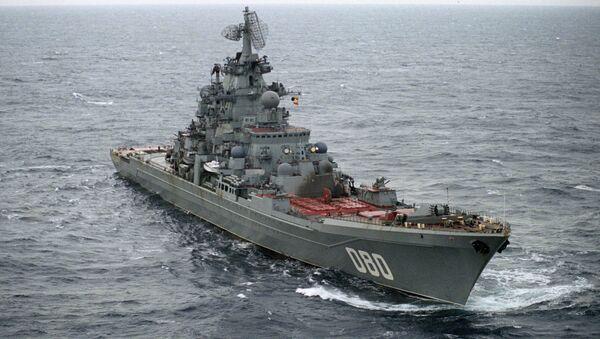 Crucero lanzamisiles Almirante Najímov - Sputnik Mundo