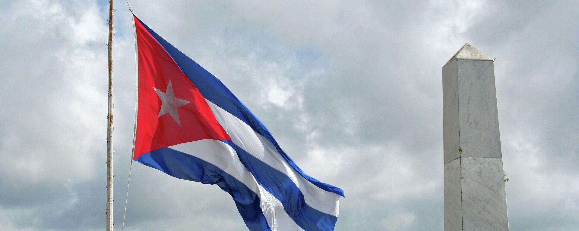 Bandera de Cuba - Sputnik Mundo, 1920, 09.04.2021