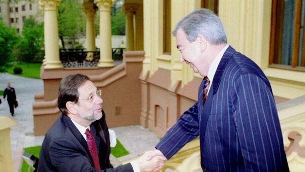 Javier Solana y Evgueni Primakov - Sputnik Mundo