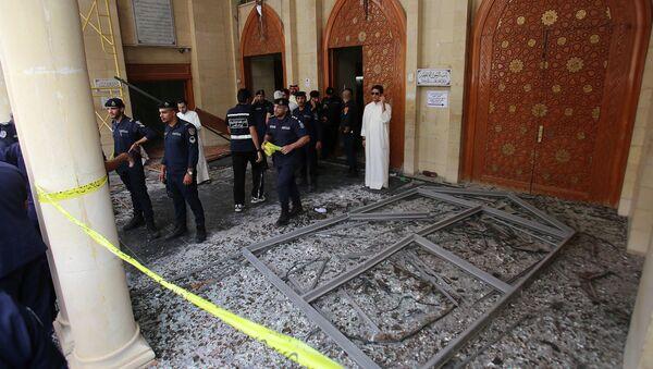 Fuerzas de seguridad kuwaitíes una mezquita chií - Sputnik Mundo