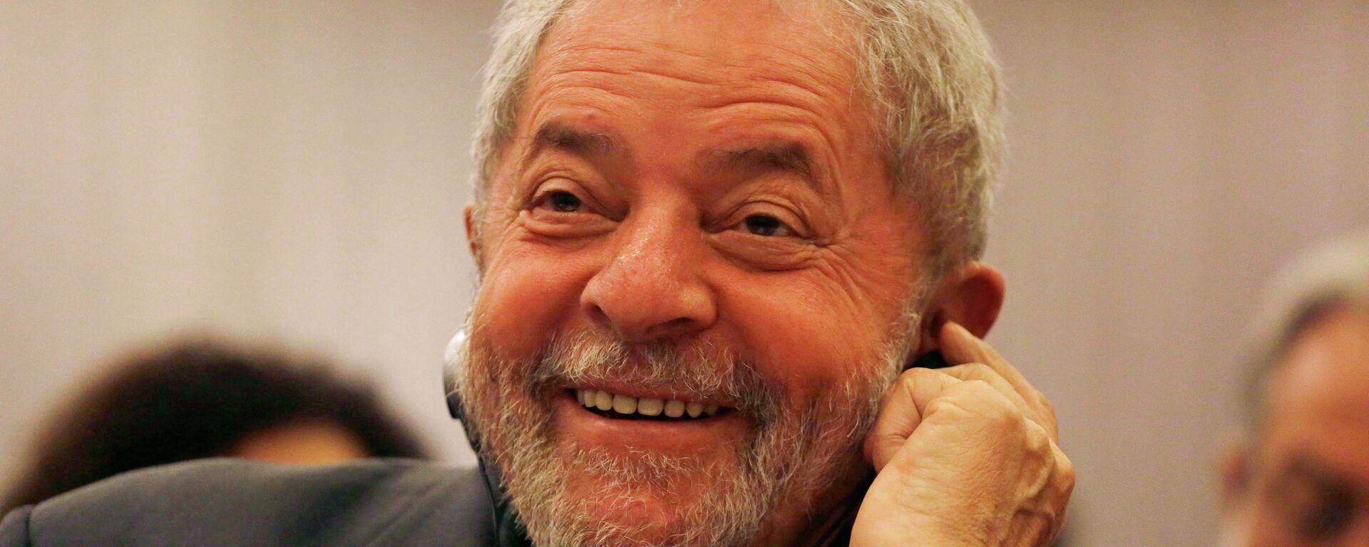 El expresidente de Brasil,  Lula da Silva - Sputnik Mundo, 1920, 09.06.2021