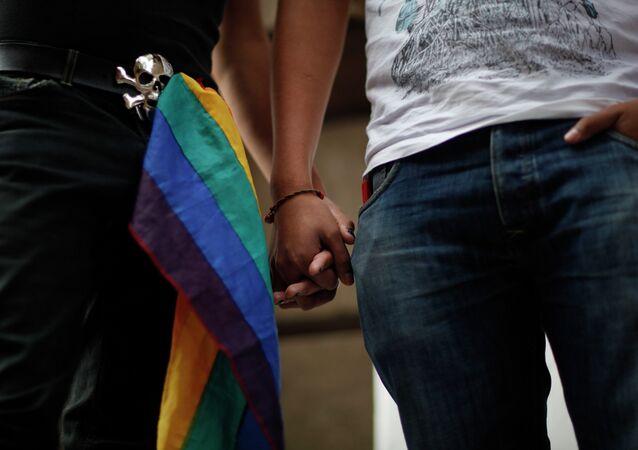Una pareja gay (imagen referencial)