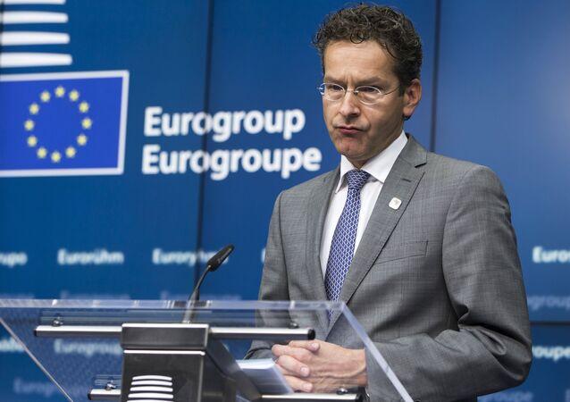 El presidente del Eurogrupo, Jeroen Dijsselbloem (archivo)