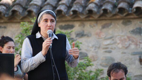 Teresa Forcades, monja española - Sputnik Mundo