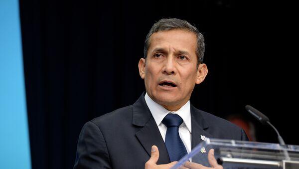 Ollanta Humala, expresidente de Perú - Sputnik Mundo