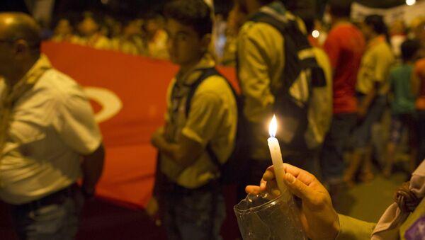 Marcha contra el terrorismo en Susa, Túnez - Sputnik Mundo