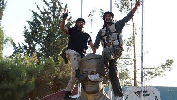 Rebeldes sirios (archivo) - Sputnik Mundo