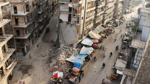 Situación en la región de la ciudad de Alepo en Siria - Sputnik Mundo