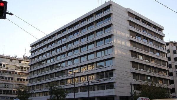Ministerio de Finanzas de Grecia - Sputnik Mundo